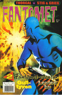 Cover Thumbnail for Fantomet (Semic, 1976 series) #22/1997