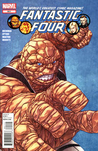 Cover for Fantastic Four (Marvel, 2012 series) #601 [Garney variant]