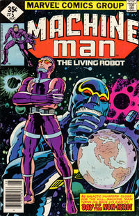 Cover Thumbnail for Machine Man (Marvel, 1978 series) #5 [Whitman]