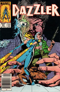 Cover Thumbnail for Dazzler (Marvel, 1981 series) #41 [Newsstand Edition]