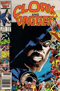Cover Thumbnail for Cloak and Dagger (Marvel, 1985 series) #9 [Newsstand Edition]