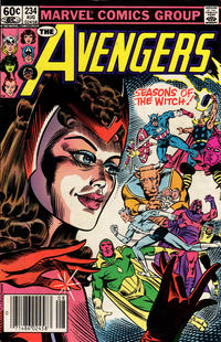Cover Thumbnail for The Avengers (Marvel, 1963 series) #234 [Newsstand Edition]