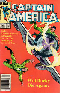 Cover Thumbnail for Captain America (Marvel, 1968 series) #297 [Newsstand Edition]