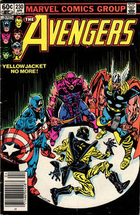 Cover Thumbnail for The Avengers (Marvel, 1963 series) #230 [Newsstand Edition]