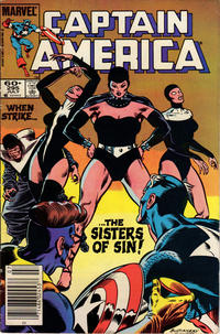 Cover Thumbnail for Captain America (Marvel, 1968 series) #295 [Newsstand Edition]