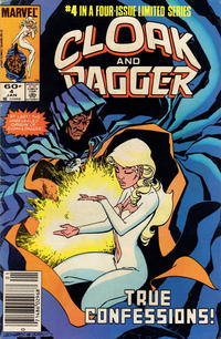 Cover Thumbnail for Cloak and Dagger (Marvel, 1983 series) #4 [Newsstand Edition]