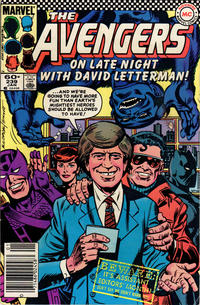 Cover Thumbnail for The Avengers (Marvel, 1963 series) #239 [Newsstand Edition]