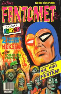 Cover Thumbnail for Fantomet (Semic, 1976 series) #7/1991