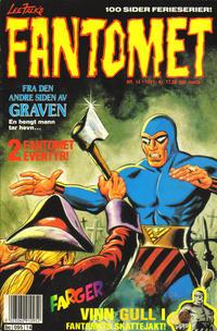 Cover Thumbnail for Fantomet (Semic, 1976 series) #14/1991