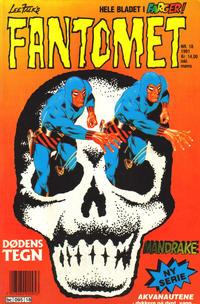 Cover Thumbnail for Fantomet (Semic, 1976 series) #18/1991