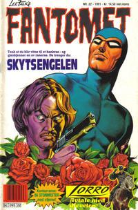 Cover Thumbnail for Fantomet (Semic, 1976 series) #22/1991