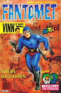 Cover for Fantomet (Semic, 1976 series) #23/1991