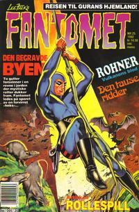 Cover Thumbnail for Fantomet (Semic, 1976 series) #25/1992