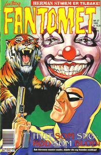 Cover Thumbnail for Fantomet (Semic, 1976 series) #27/1992