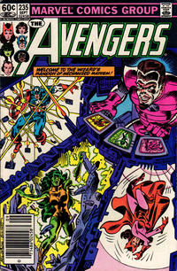 Cover Thumbnail for The Avengers (Marvel, 1963 series) #235 [Newsstand Edition]