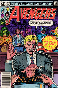 Cover Thumbnail for The Avengers (Marvel, 1963 series) #228 [Newsstand Edition]