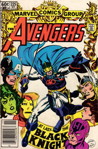 Cover Thumbnail for The Avengers (Marvel, 1963 series) #225 [Newsstand Edition]