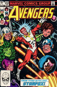 Cover Thumbnail for The Avengers (Marvel, 1963 series) #232 [Direct Edition]