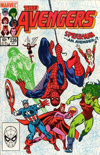 Cover Thumbnail for The Avengers (Marvel, 1963 series) #236 [Direct Edition]