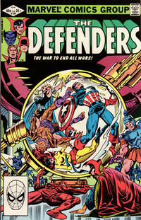 Cover Thumbnail for The Defenders (Marvel, 1972 series) #106 [Direct]