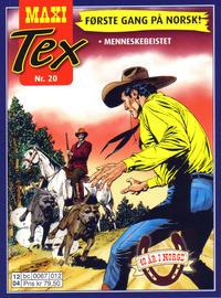 Cover Thumbnail for Maxi Tex (Hjemmet / Egmont, 2008 series) #20