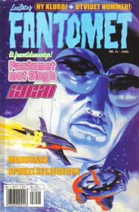 Cover Thumbnail for Fantomet (Hjemmet / Egmont, 1998 series) #21/2000