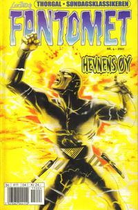 Cover Thumbnail for Fantomet (Hjemmet / Egmont, 1998 series) #4/2001
