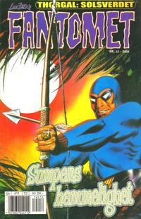 Cover Thumbnail for Fantomet (Hjemmet / Egmont, 1998 series) #12/2001