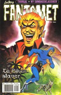 Cover Thumbnail for Fantomet (Hjemmet / Egmont, 1998 series) #18/2001