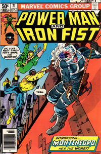 Cover Thumbnail for Power Man and Iron Fist (Marvel, 1981 series) #71 [Newsstand Edition]