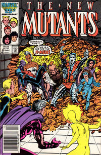Cover Thumbnail for The New Mutants (Marvel, 1983 series) #46 [Newsstand Edition]