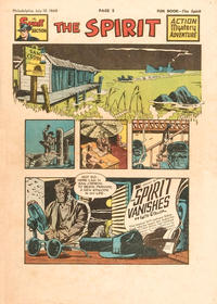 Cover Thumbnail for The Spirit (Register and Tribune Syndicate, 1940 series) #7/10/1949