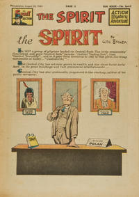 Cover Thumbnail for The Spirit (Register and Tribune Syndicate, 1940 series) #8/28/1949