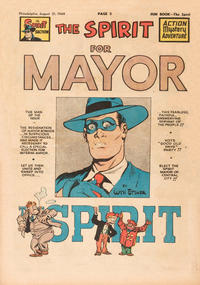 Cover Thumbnail for The Spirit (Register and Tribune Syndicate, 1940 series) #8/21/1949
