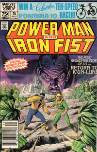 Cover Thumbnail for Power Man and Iron Fist (Marvel, 1981 series) #75 [Newsstand Edition]
