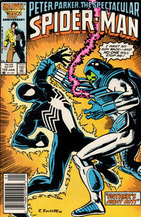 Cover Thumbnail for The Spectacular Spider-Man (Marvel, 1976 series) #122 [newsstand]