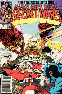 Cover Thumbnail for Marvel Super-Heroes Secret Wars (Marvel, 1984 series) #9 [Newsstand Edition]