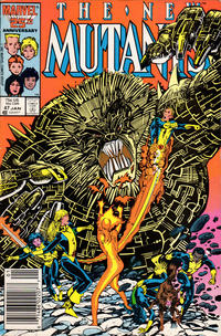 Cover Thumbnail for The New Mutants (Marvel, 1983 series) #47 [Newsstand Edition]