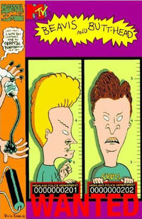 Cover Thumbnail for Beavis and Butt-Head: Wanted (Marvel, 1995 series)