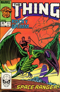 Cover Thumbnail for The Thing (Marvel, 1983 series) #11 [Direct Edition]