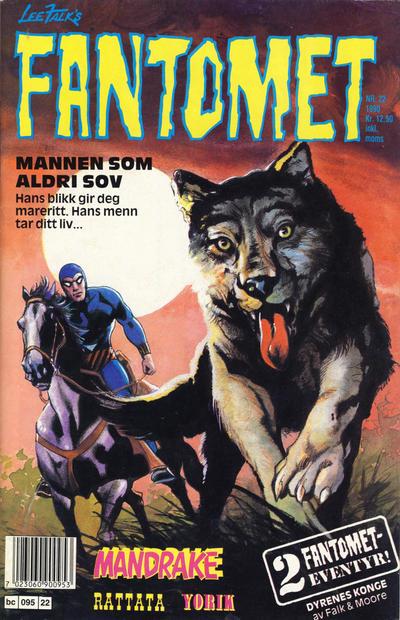 Cover for Fantomet (Semic, 1976 series) #22/1990
