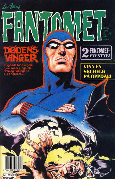 Cover for Fantomet (Semic, 1976 series) #23/1990