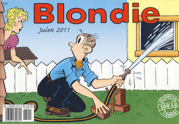 Cover for Blondie (Hjemmet / Egmont, 1941 series) #2011