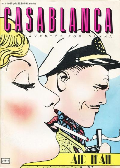 Cover for Casablanca (Epix, 1987 series) #4/1987