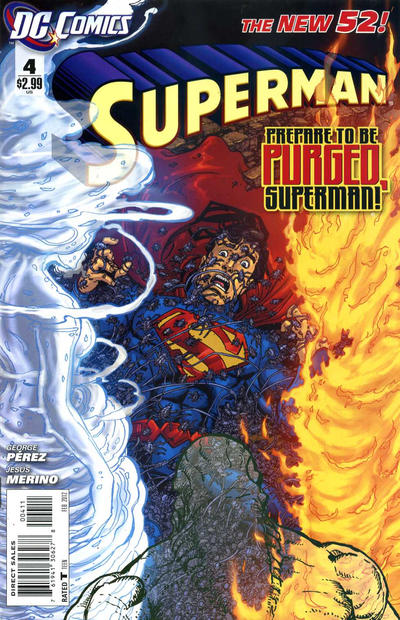 Cover for Superman (DC, 2011 series) #4