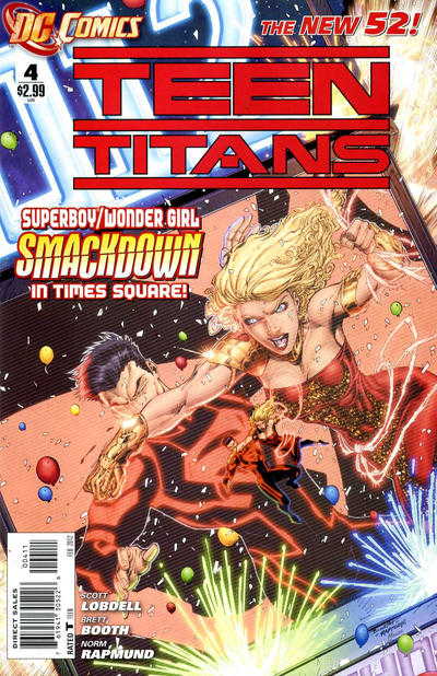 Cover for Teen Titans (DC, 2011 series) #4 [Direct Sales]