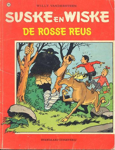Cover for Suske en Wiske (Standaard Uitgeverij, 1967 series) #186 - De rosse reus