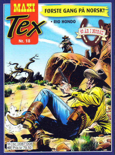 Cover for Maxi Tex (Hjemmet / Egmont, 2008 series) #18