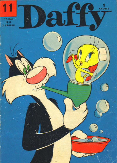 Cover for Daffy (Allers Forlag, 1959 series) #11/1959
