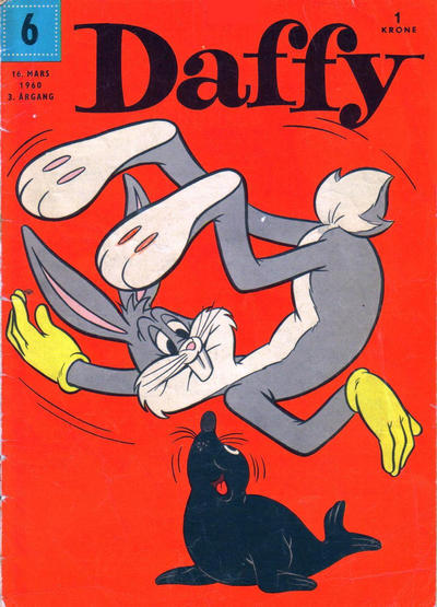 Cover for Daffy (Allers Forlag, 1959 series) #6/1960